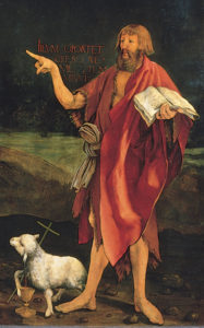 Grunewald_Isenheim1 John the Baptist